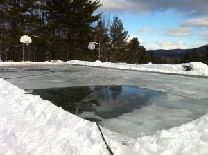 Bethany Birches ice rink