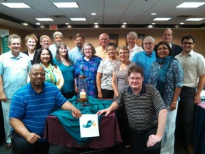 Mennonite Church USA executive board members at their June 2014 meeting.