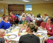 The Soueidans hosted a meal for the Salford Mennonite Church congregation on Sept. 17. The event marked the 15th anniversary of Sept. 11, 2001 and the Muslim Eid al-Adha (sacrifice feast) holiday.