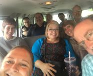 Conference staff took a road trip with Pastor Bruce Eglinton-Woods (Salem), to explore the community where the congregation is ministering.