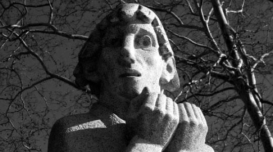 Preacher Statue