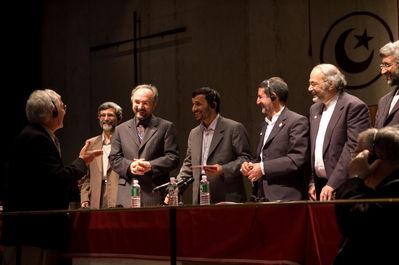 Bert Lobe and Ahmadinejad